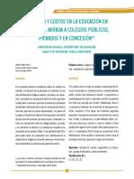 Calidad y Costos de La Educacion en Colombia en Colegios