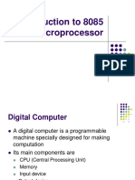 Introduction to 8085 Microprocessor - Dr.P.Yogesh.ppt
