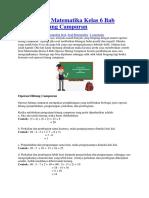 Contoh Soal Matematika Kelas 6 Bab Operasi Hitung Campuran.docx