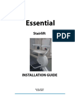 Installation manual stairlift Essential.pdf