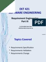 Topic 5 -Requirement Engineering Part III