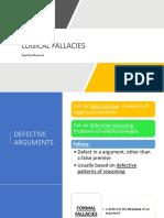 Fallacies+I