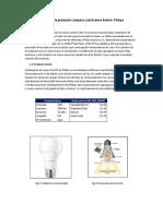 Rediseño del Producto Lamparas LED