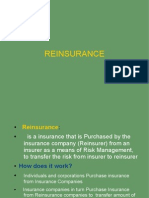 Introduction to Re Insurance