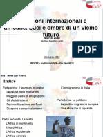 """Presentazione Marco Zupi_Incontro """"Immigrazione e processi d'integrazione"""""""