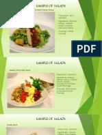 Sample of Salad