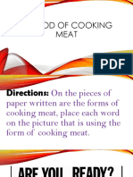 Methods of Cooking Meat