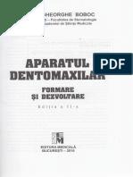 Aparatul Dento-maxilar - Gheorghe Boboc