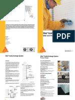 Bro Sika Cavity Drainage Systems Leaflet