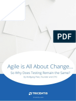 Agile is Change