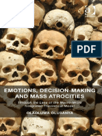 Olaoluwa Olusanya - Emotions, Decision-Making and Mass Atrocities_ Through the Lens of the Macro-Micro Integrated Theoretical Model (2014, Ashgate Pub Co)
