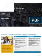 2018-04 Skylake Dell 2018 Flyer SAP Business One HANA