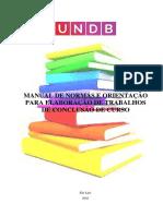 MANUAL DE NORMALIZAÇÃO UNDB- REVISADO