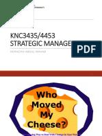 Knc3453_4453 Strategic Management