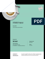 Proposal cover (coffee)