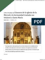 EcijaWeb Iglesia de La Merced