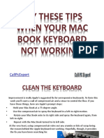 Try These Tips When Your Mac Book Keyboard