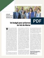 Tribune d'Avril 2019