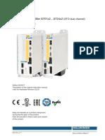 Digital Servo Amplifier S701x2