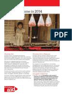 Christian Aid Myanmar Infosheet July 2014