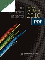 Avance del Informe 2010 - REE