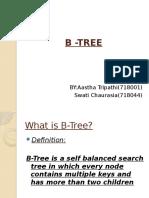 B -TREE