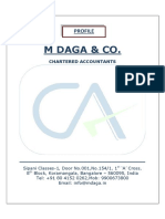 M Daga & Co Profile