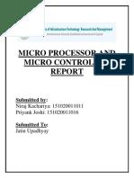 Microprocessor 8085