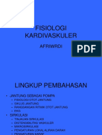 FISIOLOGI KARDIVASKULER