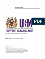 Organizational development case analysis-The old family bank.docx