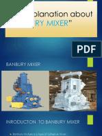 Brief Explanation About Banbury Mixer