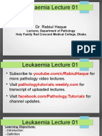 leukaemia lecture 01 - aml - dr