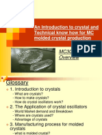 An Introduction to Crystal and Technical Know How