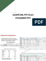 AJUSTE DE PVT CLA-5 EN PVTi