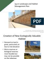 Staff Training on Landscape and Habitat Management Plan
