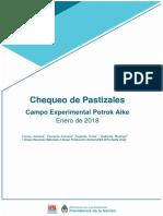 Inta Chequeo Pastizales Campo Experimental Potrok Aike Enero 2018