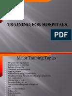 Training of Hospital