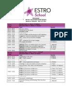 Astro school timetable