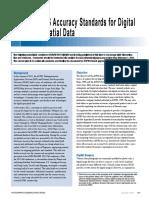 Draft ASPRS Accuracy Standards for Digital Geospatial Data PE&RS