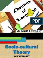 1. SocioCultural Theory (Lev Vygotsky)