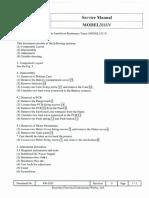 Service Manual 3111V