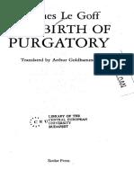 Jacques Le Goff - The Birth of Purgatory.pdf