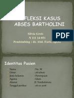 Abses Bartolini