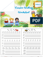 Cursive Worksheet v.1