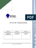 PRC - 000 - IMC - Preparacion de Rutas rev2.docx