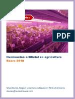 Luz Artificial en La Agricultura
