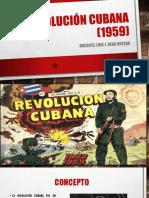 La Revolución Cubana (1959)