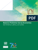 CEPAL - Balance Preliminar de La Economias de America Latina 2018.pdf