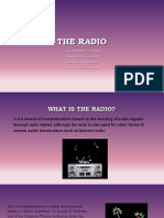 El radio medio de comunicacion
