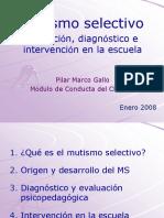 Mutismo selectivo. Detección, diagnóstico e intervención en la escuela..pdf